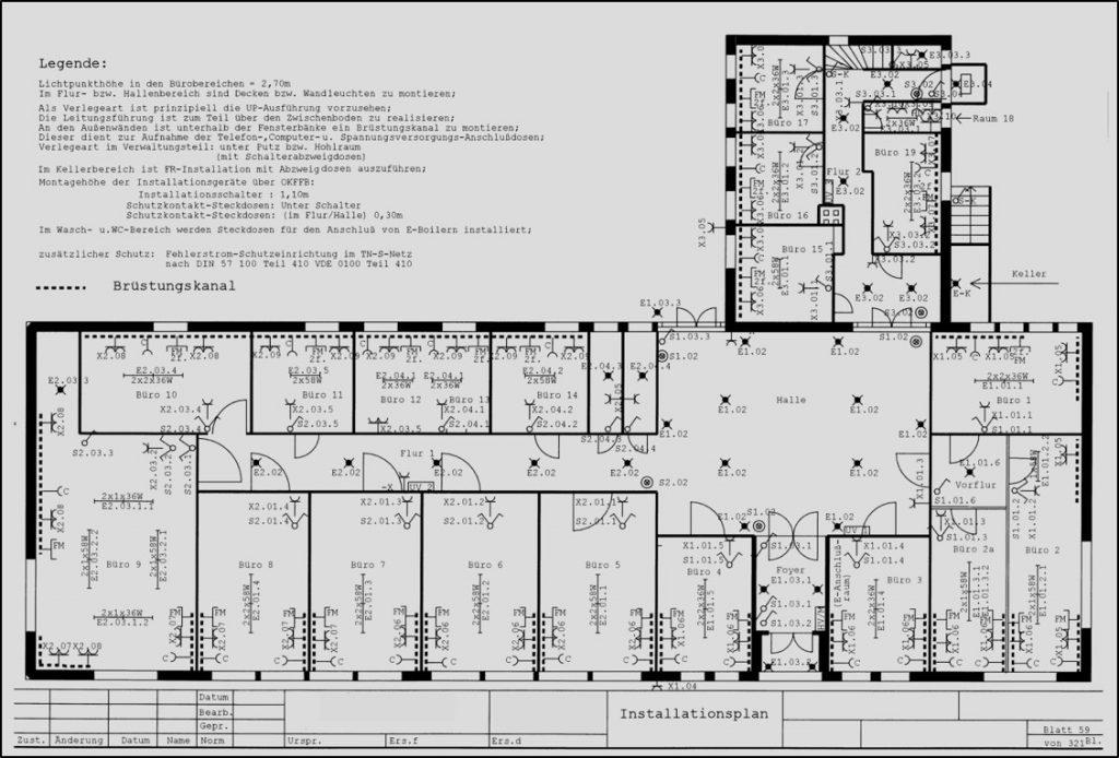 Planung und Projektierung von Elektroanlagen ESD GmbH Dargun