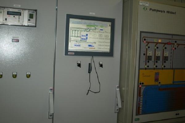 Steuerungsvisualisierung Pumpwerk ESD GmbH Dargun
