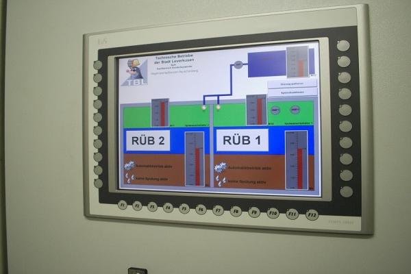 Visualisierungsprogrammierung Pumpwerk ESD GmbH Dargun