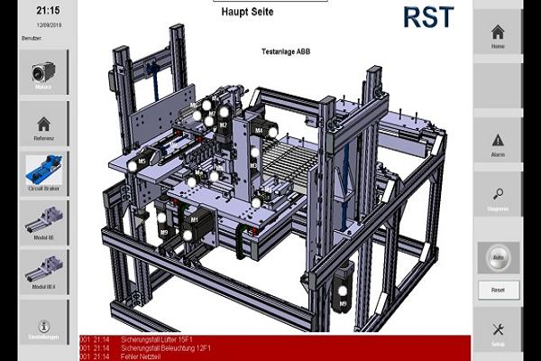 Steuerung Teststand mit Visualisierung und Applikation ESD GmbH Dargun